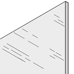 Cut-to-Size Polycarbonate Glazing Sheet