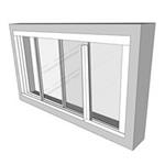 Easyfix Trackglaze Horizontal - Sliding Secondary Glazing