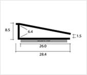 magnetglaze pro secondary glazing dimensions