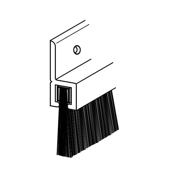 20mm Brush - Aluminium