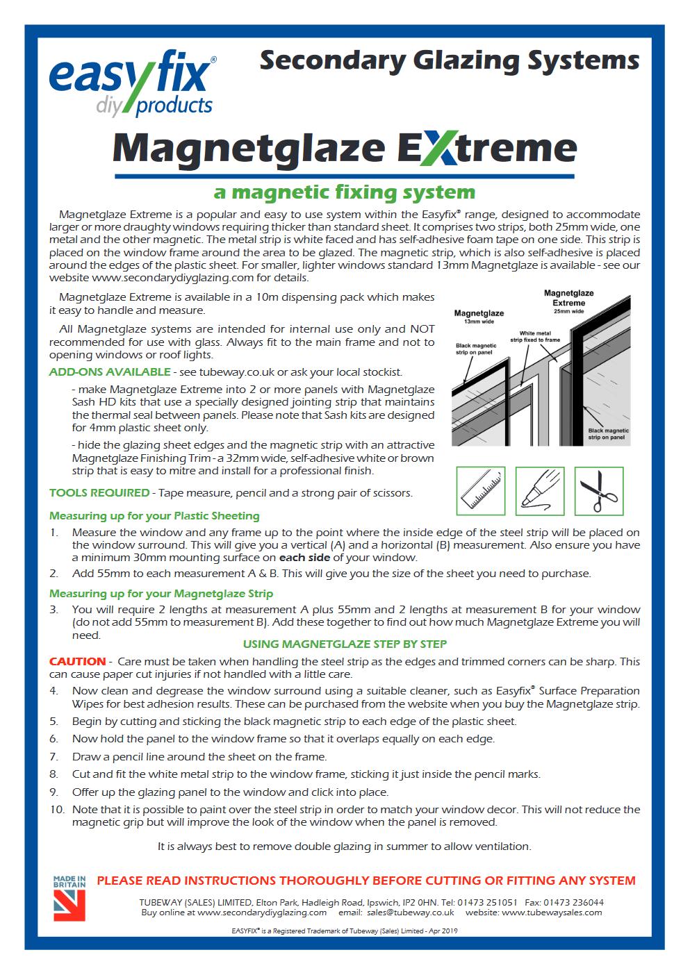 magnetglaze installation pdf