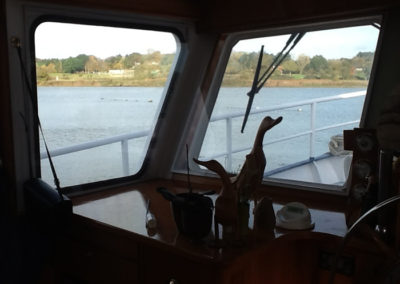Magnetglaze used throughout a houseboat. Thanks to Mark Goodchild