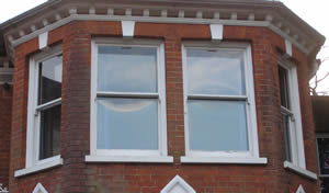 secondary glazing case study outside view