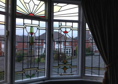 Magnetglaze fitted over beautiful original windows without detracting from them. Thanks to Martyn Bristow
