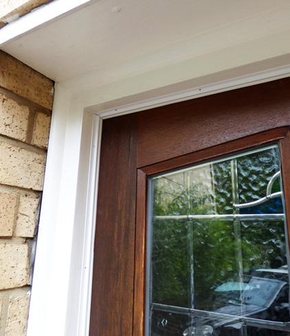 easyfix white door frame draught excluder