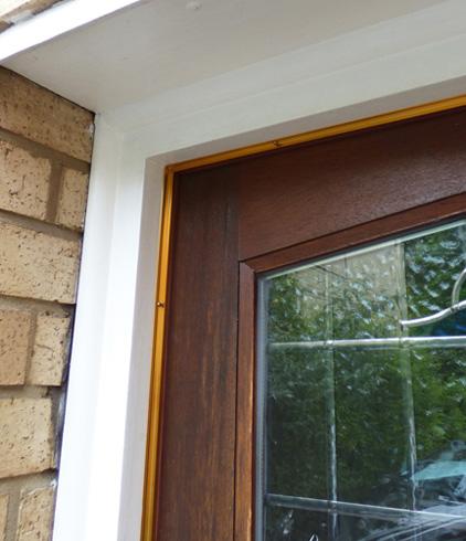easyfix gold door frame draught excluder