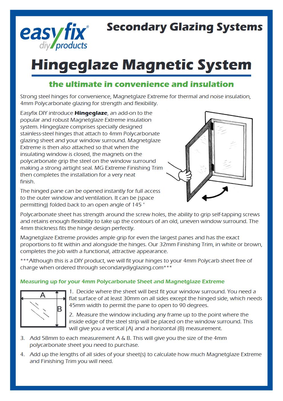 hingeglaze installation pdf