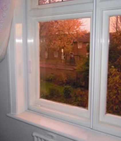 windows needing insulating but with easy access at all times