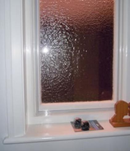 regular condensation on this window