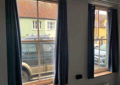 Magnetglaze Extreme fitted to sash windows